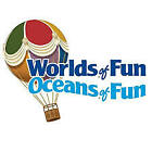 2 Two E-Tickets Worlds of Fun / Oceans of Fun