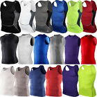 Внешний вид - Men Body Armour Compression Under Skin Base Layer Sleeveless Vest Tank Gym Shirt