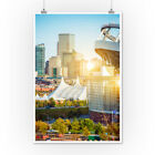 Denver, Colorado - Skyline - Photography A-93479 (Posters, Wood & Metal Signs)