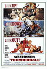 65233 Thunderball Movie Sean Connery laudine Auger Wall Poster Print UK £10.95 GBP on eBay