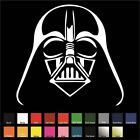 Darth Vader Sticker / Decal - Choose Color & Size - Star Wars Sith Lord Force $1.99 USD on eBay