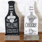 Stand Up Bottle Opener&Cork Catcher Wall Mounted Bar Beer Opener Fashion Supply