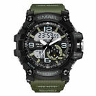 SMAEL Adult Men's Waterproof Digital Analog Chrono Quartz Outdoor Sports Watches image