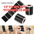 120pcs/roll Chalkboard Kitchen Spice Jar Bottle Tag Stickers Blackboard Label Qe