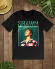 Shawn Mendes Inspired Homage Gift For Fan Vintage Style 90s T-Shirt Black Unisex