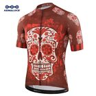 White Skull Sublimation Printing Cycling Jersey Best 2019 Pro Polyester Bike
