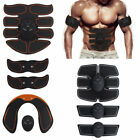 8PC Electric Muscle Toner EMS Simulator Wireless Toning Belt ABS Butt Trainer DD image
