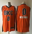 New Men's Oklahoma City Thunder #0 Russell Westbrook Basketball Jerseys on eBay