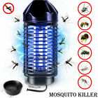 Electric UV Mosquito Killer Lamp Outdoor/Indoor Fly Bug Insect Zapper Trap EU/US