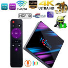 H96 MAX TV BOX RK3318 Quad Core 2/4GB+16/32/64GB ANDROID 9.0 4K WIFI IPTV Q0G8
