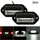 2x Universal 6 Led Number Plate Light Lamps For Car Van Trailer Lorry Caravan Uk