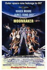 68727 Moonraker Movie Roger Moore, Lois Chiles Wall Poster Print CA $19.95 CAD on eBay