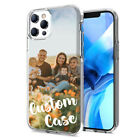 Personalized Custom Photo Case For iPhone 11 Pro / X /XR/ XS Max/ SE / 8 Plus