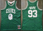 Men's Boston Celtics #93 BAPE Basketball jersey  Green Size:S-XXL on eBay
