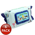 1/3/6/12 BABY LOONEY TUNES BABY WIPES ALCOHOL-FREE HYGIENIC CONTAINER 80 SHEETS