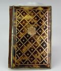 Antique Victorian Gold Inlay & 800 Silver Mounted Calling Card Case Holder ACZ