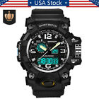 Sanda Men Digital Wrist Watches LED Military Outdoor Sport Waterproof Watch US image