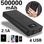 Power Bank 500000mAh LCD Portable External Battery Charger For Smart Phones
