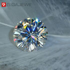 White D Color VVS1 Round Cut Moissanite Stone Loose Gemstone With Certificate