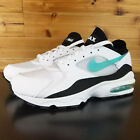 Nike Air Max 93 OG Dusty Cactus 2018 Retro White Black 306551-107