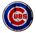 Chicago Cubs Distressed Logo Vinyl Sticker Decal *SIZES* Cornhole Wall Bumper on Ebay