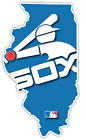 Chicago White Sox Retro Vintage LOGO Illinois State Baseball Vinyl Sticker Decal on Ebay