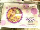 Tasty Tea Zone Mini Flavored Mochi Rice Cakes Rainbow 10.58 Oz/pack Dessert