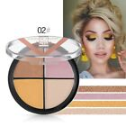 Glitter Eyeshadow Contour Cream Palette Waterproof Long-Lasting Face Makeup