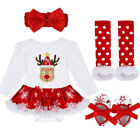 FixedPriceus infant christmas outfit girl baby first xmas party romper tutu dress clothes