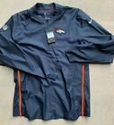Nike Denver Broncos Dri-Fit Lockdown 1/2 Zip Golf Jacket M L on eBay