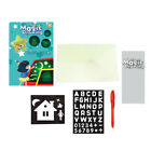 FixedPricedraw with light fun and developing toy drawing board magic draw educational gift