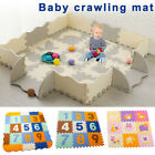 Baby Puzzle Exercise Mats Crawling Playing Mat Interlocking Foam Floor Tiles