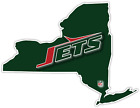 NY New York State JETS NFL Football LOGO Vinyl Sticker Decal Car Bumper Wall $14.99 USD on eBay