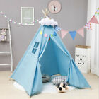 Portable Indoors Children Playhouse Sleeping Dome Teepee Tent Play House Gift