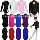 Kyпить US Kids Girls Ballet Dance Leotard Long Sleeve Gymnastics Turtle Neck Dancewear на еВаy.соm
