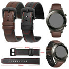 For Samsung Galaxy Watch 46mm S3 Classic Leather Silicone Wrist Band Strap 22mm