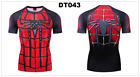 MARVEL DC AVENGERS ROBIN COSPLAY COMPRESSION PREMIUM T-SHIRT Fitness GYM TOPS
