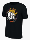 New Nike 2019 Brooklyn Nets Notorious Biggie Smalls Crown Essential Logo T-Shirt on eBay