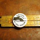United We Shall Overcome Button Pinback Pin Magnet Lapel Pin Unity MLK Love