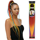 Innocence EZ Braid Rainbow Hair Spetra Pre-Stretched Braiding Mixed Colors 30""