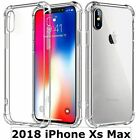 iPhone X / XR / Max Case and 2 pack Tempered Glass Screen Protector for Apple