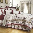 Persian Floral Burgundy Comforter Reversible Sheet Set New Home Bedding Intima image