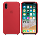 For Apple iPhone XS Max XR X 8 7 6plus Genuine Original Soft Silicone Case Cover фото
