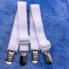 2pcs Adjustable Elastic Bed Sheet Clip Mattress Cover Fasteners Straps Grippers image