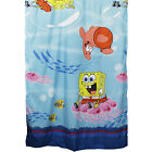 1pc CHILDRENS CHARACTER LONG CURTAIN PANEL - Spongebob Tiana Dora Window Drapes