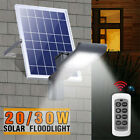20W 30W Solar Wall Street Light Night Sensor Floodlight Spotlight Outdoor Garden
