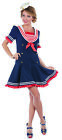 Sexy Sailor Girl Womens Costume Seefahrerin Carnival Weiber Almost Night