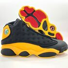 Nike Air Jordan 13 Retro Melo Class 2002 Black Red Yellow 414571-035 Mens 9.5-15