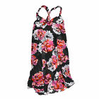 Victoria's Secret Swim Cover Up Very Sexy Sheer Dress Floral Black Red Vs New