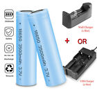 3500mAh-18650-Battery-Flashlight-Rechargeable-Liion-Flat-Top-Batteries-Charger